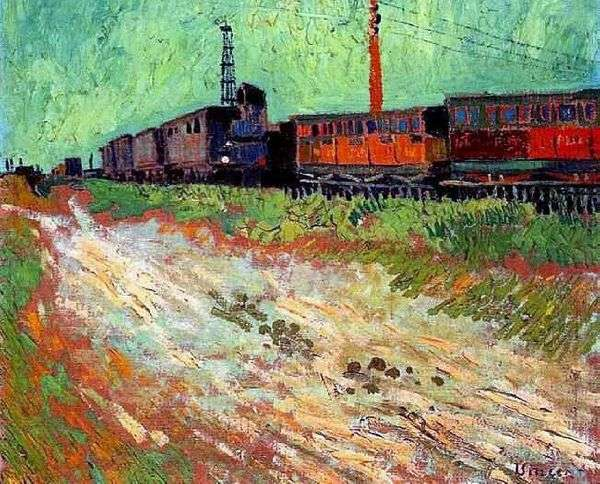 鉄道車両   Vincent Van Gogh