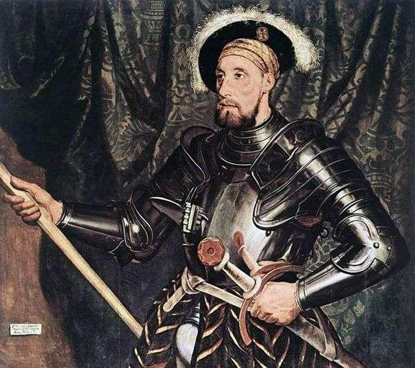ニコラス・カルー卿の肖像   Hans Holbein