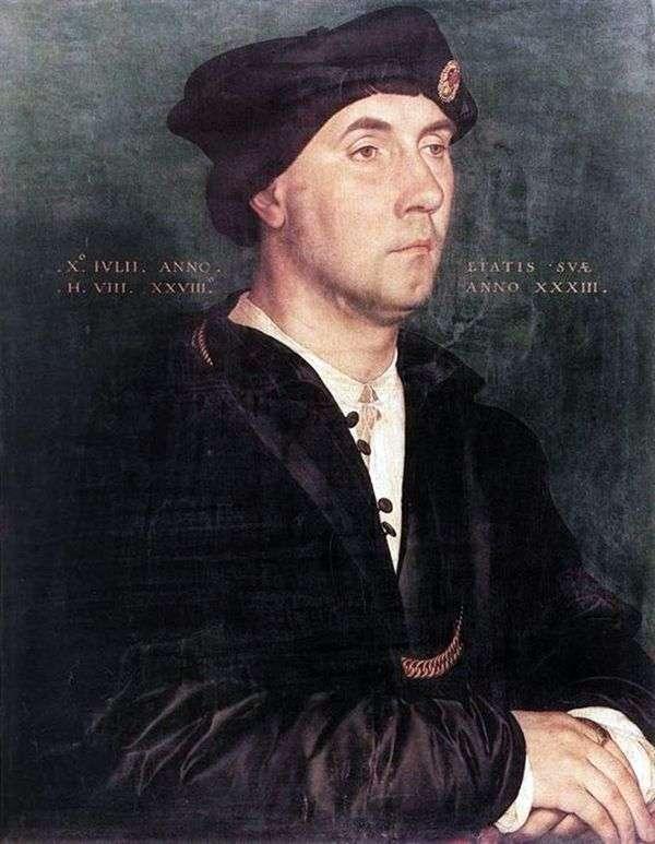 サー・リチャード・サウスウェルの肖像   ハンス・ホルバイン