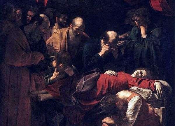 マリアの死   ミケランジェロメリシダカラヴァッジョ