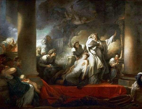 Koreiro   Jean Honore Fragonardのために僧侶コレズは自分自身を犠牲にする