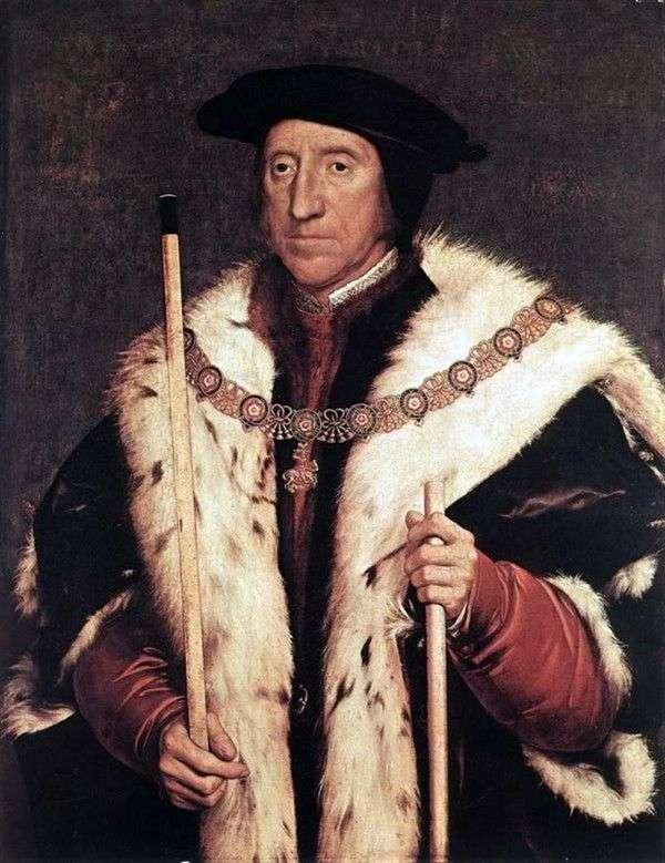 Thomas Howard、ノーフォーク公爵の肖像   Hans Holbein