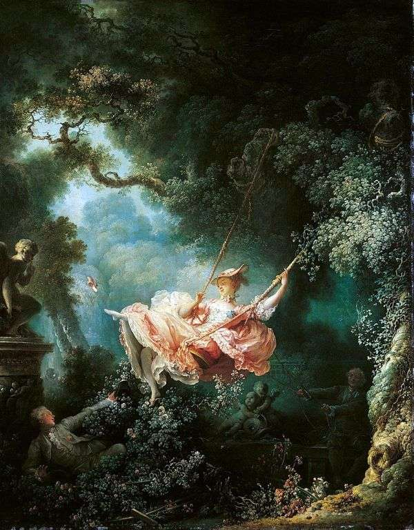 スイング   Jean Honore Fragonard