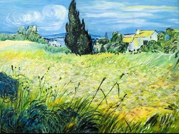 サイプレス   Vincent Van Goghのグリーン麦畑