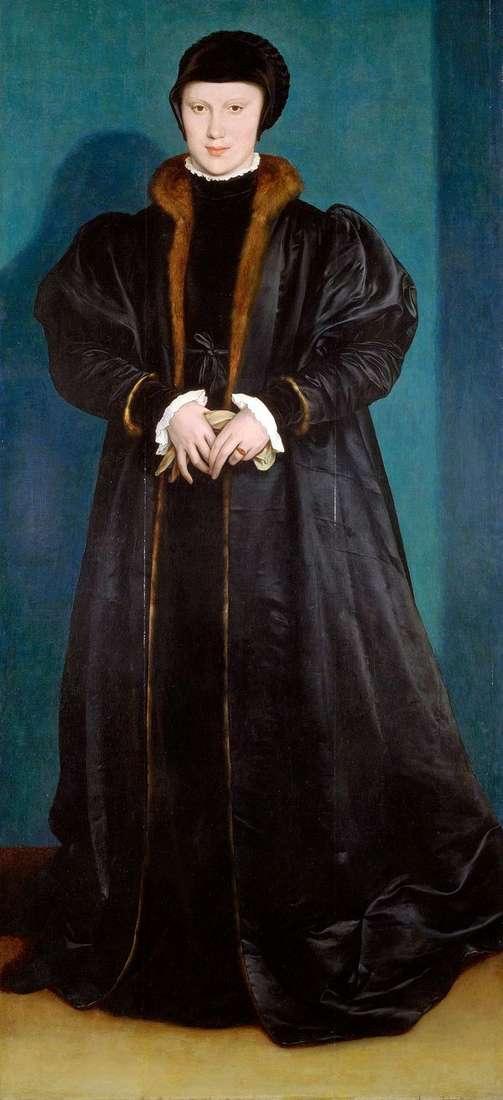 Christina Danish   Hans Holbeinの肖像