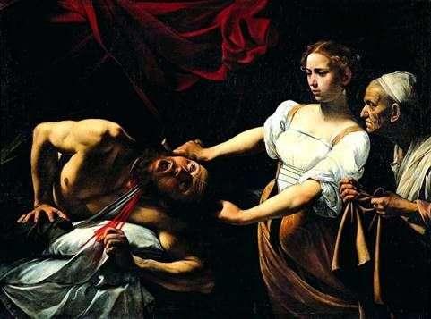 Holofernes   Michelangelo Merisi da Caravaggioを殺害するジュディス