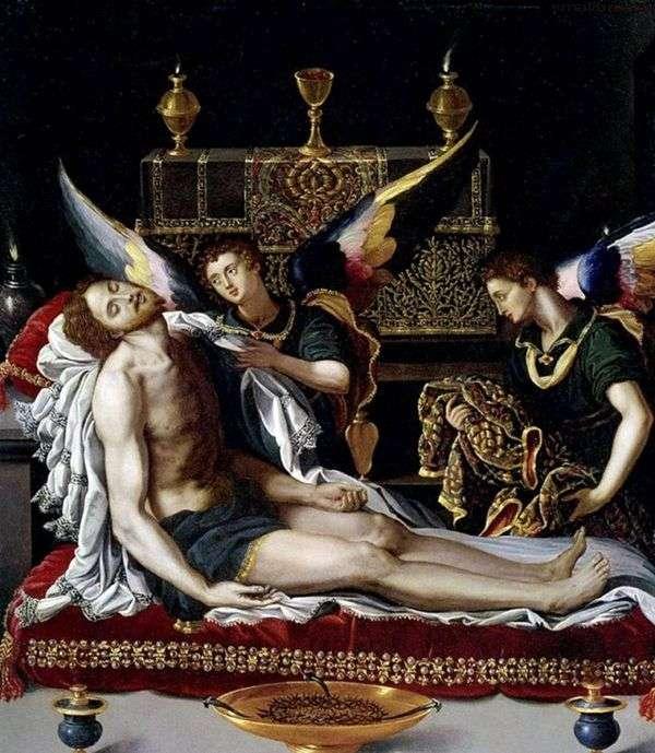 キリストのからだにいる二人の天使   アレッサンドロ・アローリ