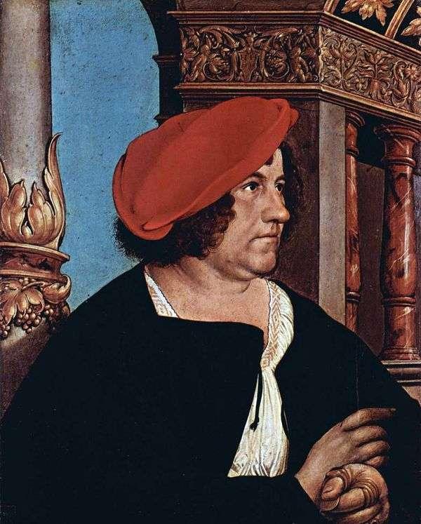 Jacob Mayer   Hans Holbeinの肖像