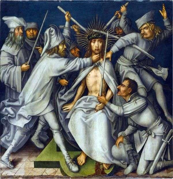 キリストを非難   ハンス・ホルバイン