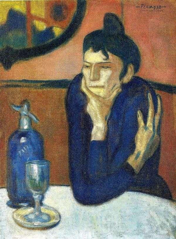 アブサンの恋人   Pablo Picasso