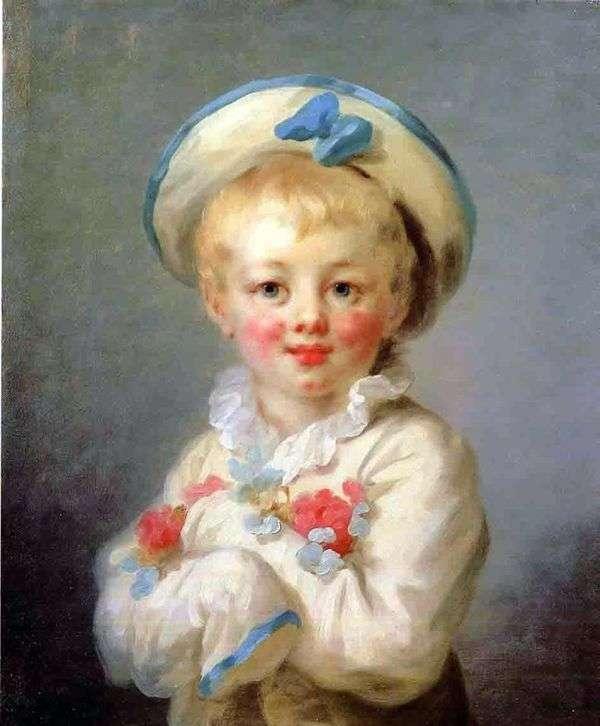 Pierrot as Boy   ジャン=オノレ・フラゴナール