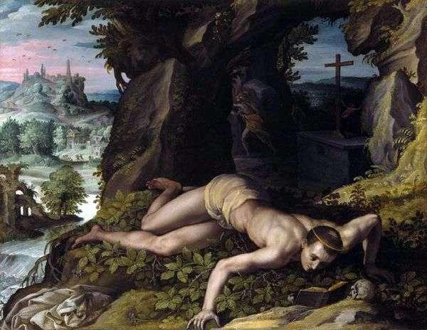 聖ベネディクトの誘惑   アレッサンドロアロリ