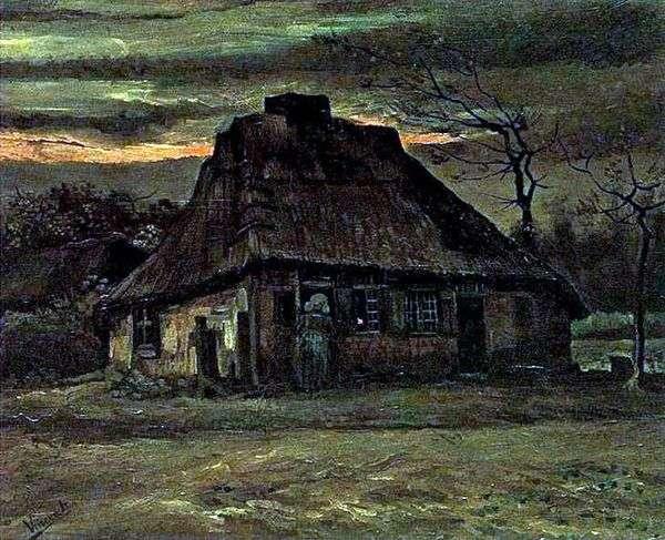 小屋   Vincent Van Gogh