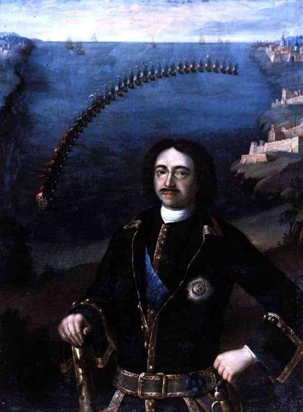 Peter I   Louis Caravaqueの肖像