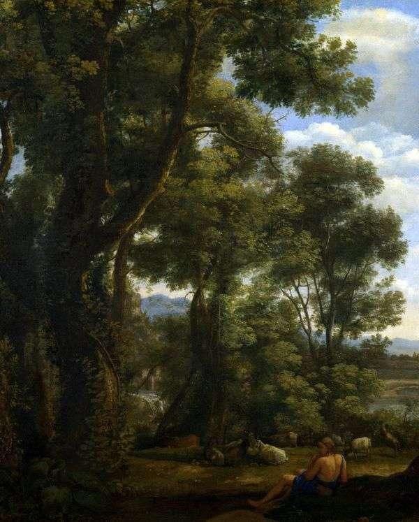 ヤギとヤギのいる風景   Claude Lorrain