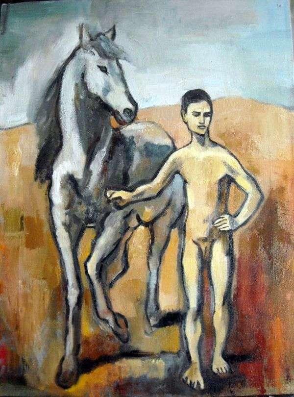 少年は主導馬です   Pablo Picasso