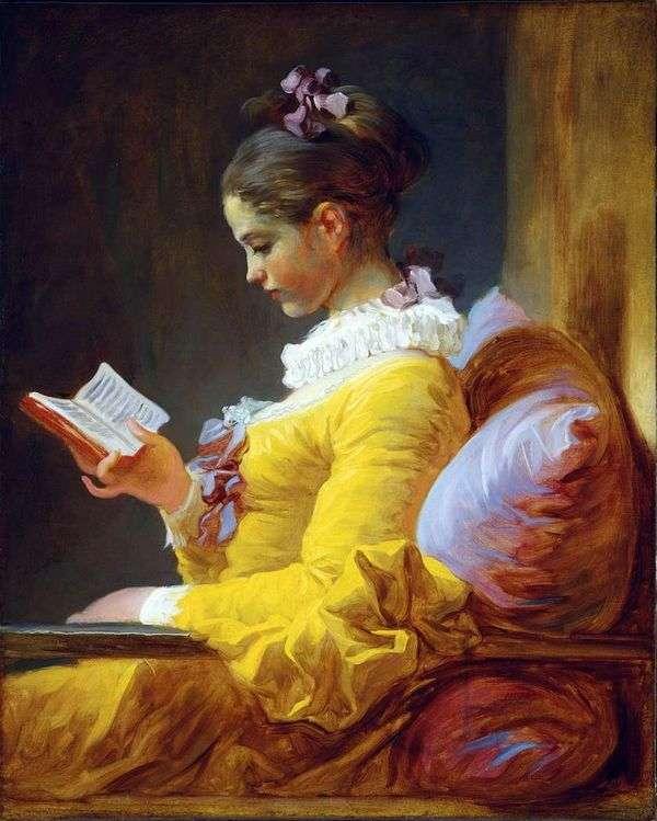 若い読者   Jean Honore Fragonard