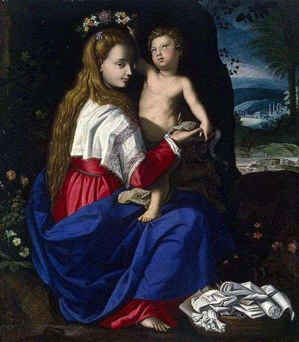 マドンナと子   アレッサンドロ・アローリ