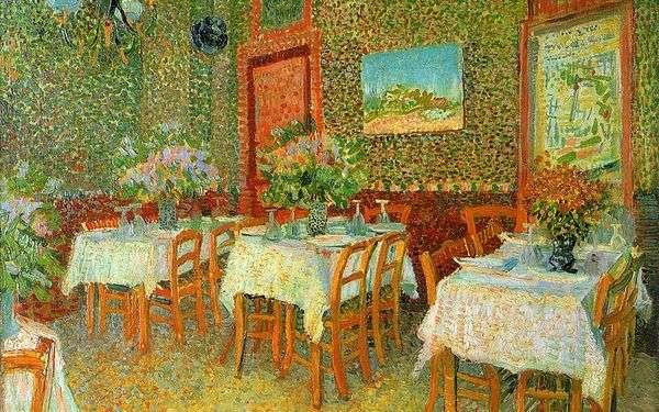 レストランのインテリア   Vincent Van Gogh
