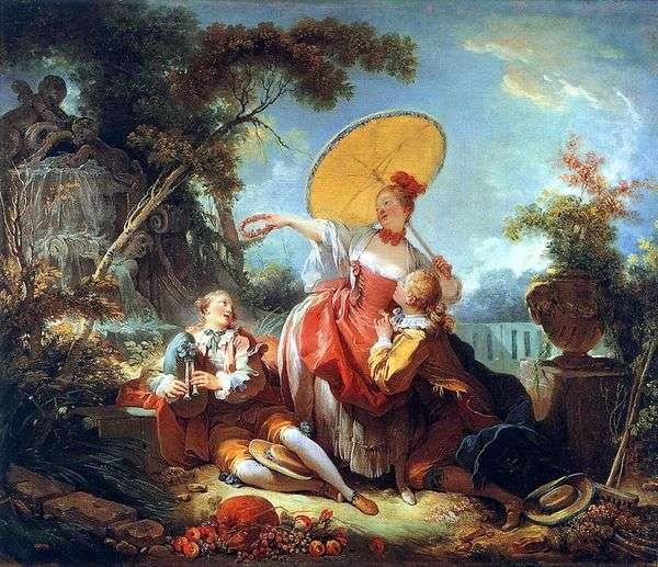 ミュージカルベット   Jean Honore Fragonard