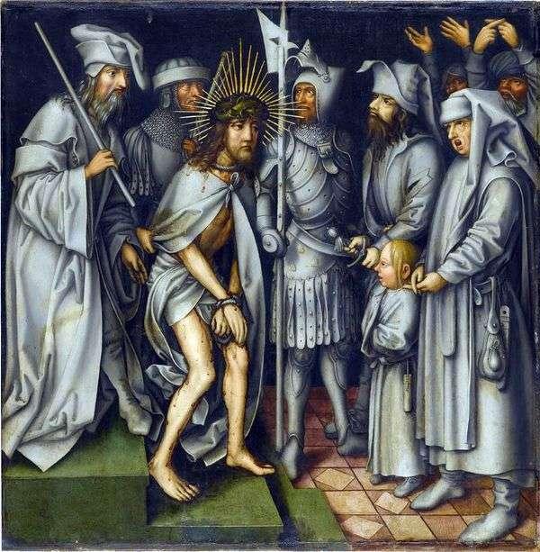 Caiaphasの前のキリスト   ハンス・ホルバイン