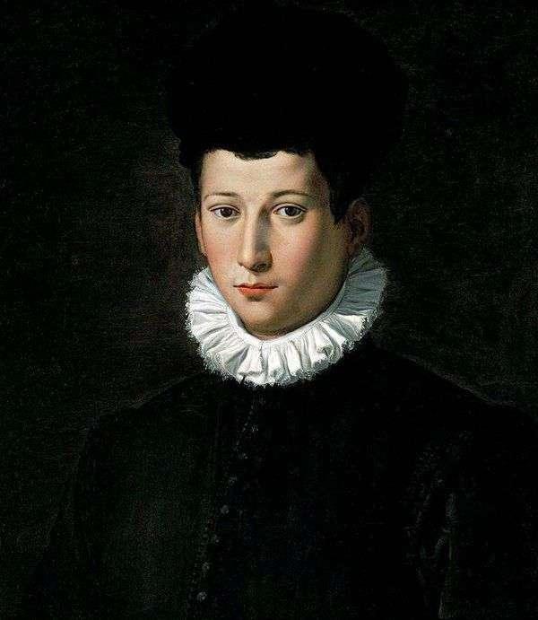若い男の肖像   Alessandro Allori