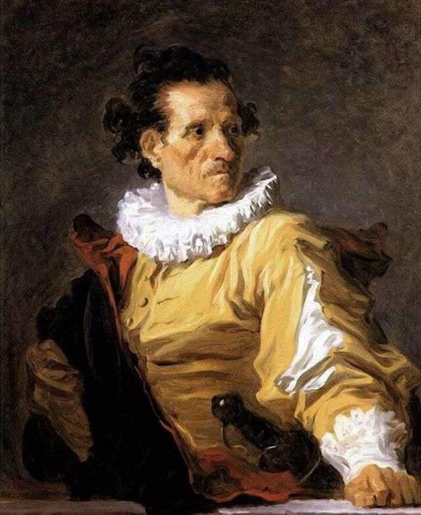 戦士の肖像   Jean Honore Fragonard