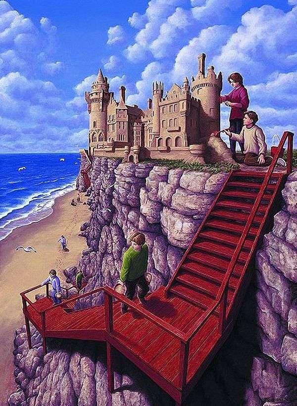 崖の上の城   ロブ・ゴンサルベス