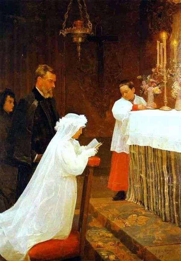 初聖体拝領   パブロ・ピカソ