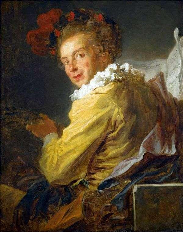 ルイ・リチャード・ド・ラ・ブレットの肖像   Jean Honore Fragonard
