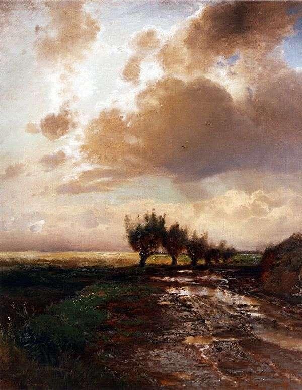 田舎道   アレクセイサブラソフ