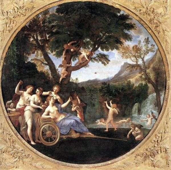 春(金星のトイレ)   Francesco Albani