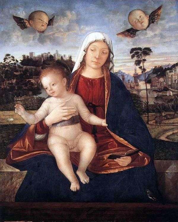 マドンナと子   ヴィットーレカルパッチョ