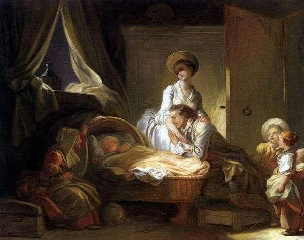 子供部屋の見学   Jean Honore Fragonard