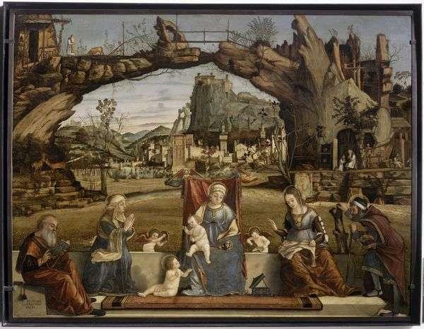 聖人と聖母子   ヴィットーレカルパッチョ