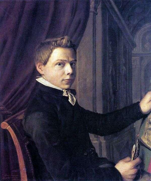 若者の自画像   ローレンス・アルマ=タデマ