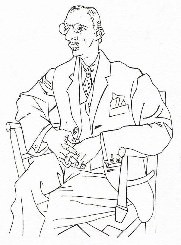 イゴール・ストラヴィンスキー   パブロ・ピカソの肖像