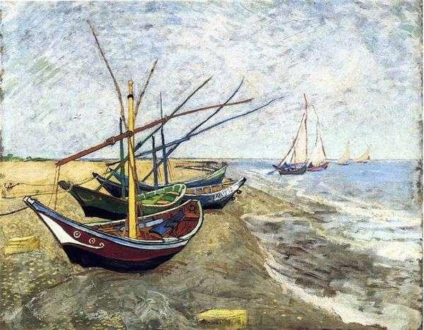 Saint Marie   Vincent Van Goghのボート