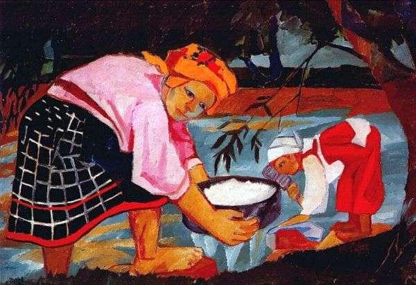農民の女性   ナタリアGoncharova