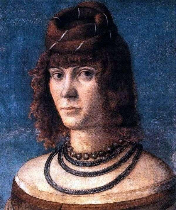 Courtesan   Vittorio Carpaccioの肖像