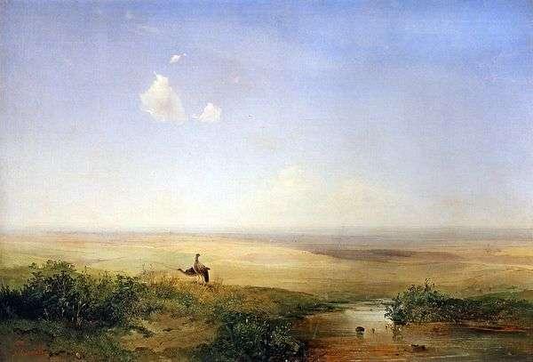 午後の草原   アレクセイ・サブラソフ