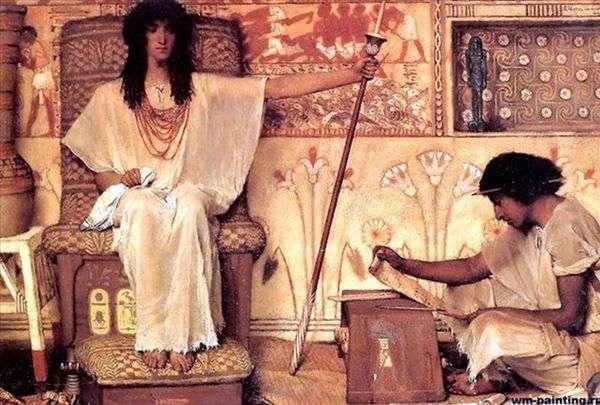 Joseph   ファラオの穀倉所長   Lawrence Alma Tadema