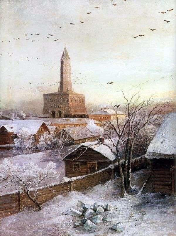 モスクワのSukharev Tower   Alexei Savrasov