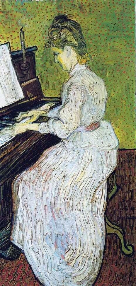 ピアノでマルガリータガチェ   Vincent Van Gogh