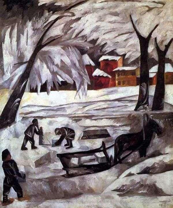 氷の彫刻   ナタリアGoncharova