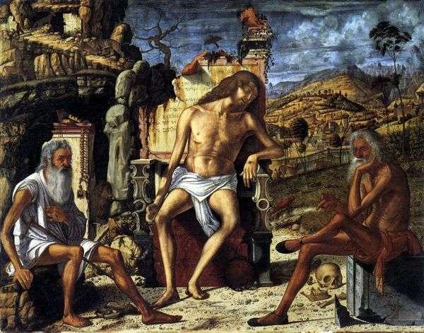 キリストの受難についての考察   Vittore Carpaccio