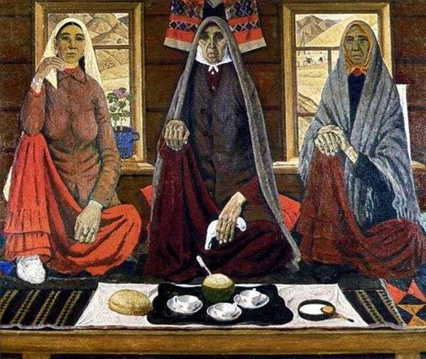3人の女性   Akhmat Lutfullin