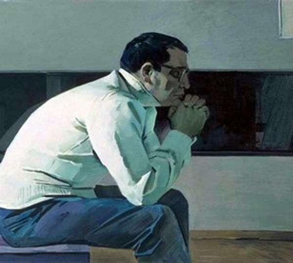 作曲家カラ・カラエフ   Tair Salakhovの肖像