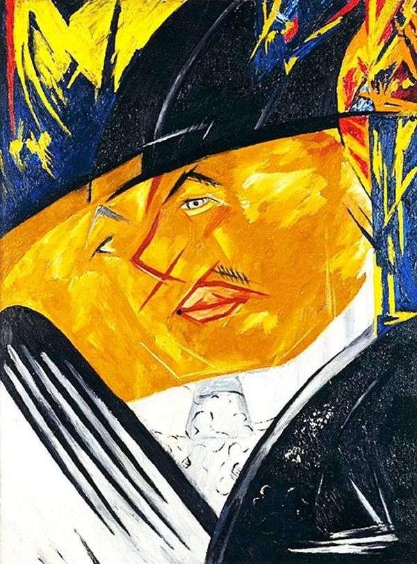 M. F. Larionovの肖像   ナタリアGoncharova