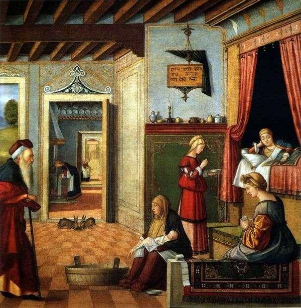 聖母マリアの誕生   ヴィットーレカルパッチョ